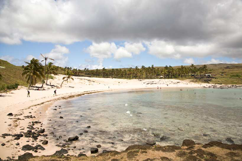 Anakena Beach, Easter Island