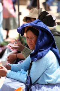 Cooling Off in a Mantaro Valley Market