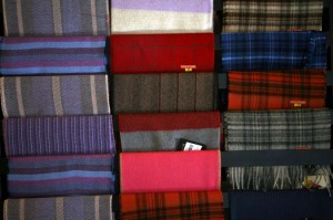 Scarves made from Alpaca fiber