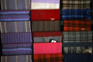 Scarves made from Alpaca fiber