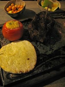Bife de Chorizo at Andrés Carne de Res in Bogotá, Colombia