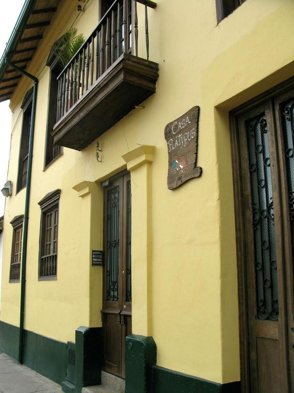 Casa Platypus Hotel Bogota