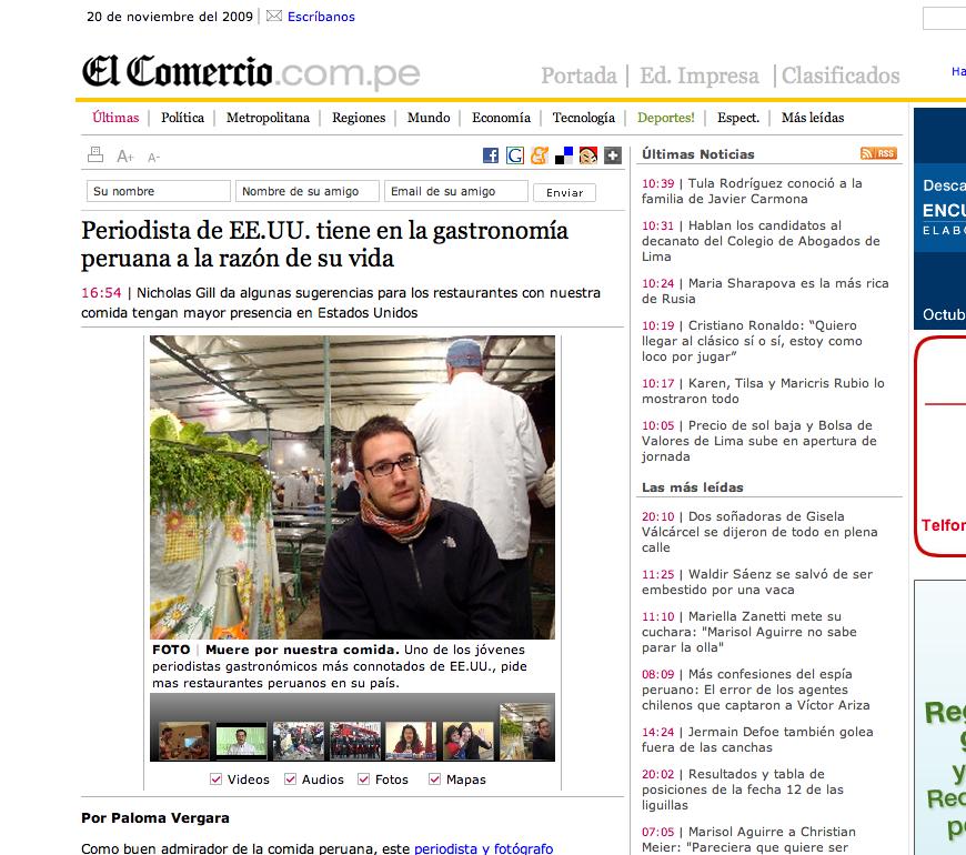 El Comercio Peru