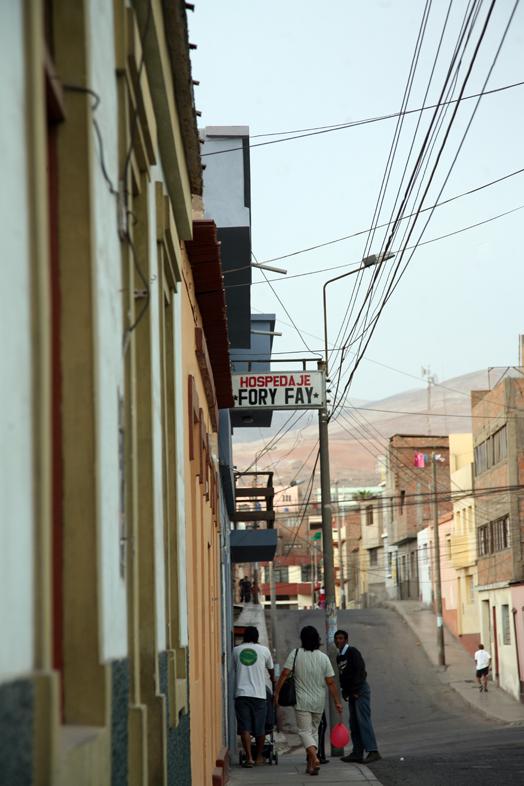 Fory Fay in Mollendo, Peru