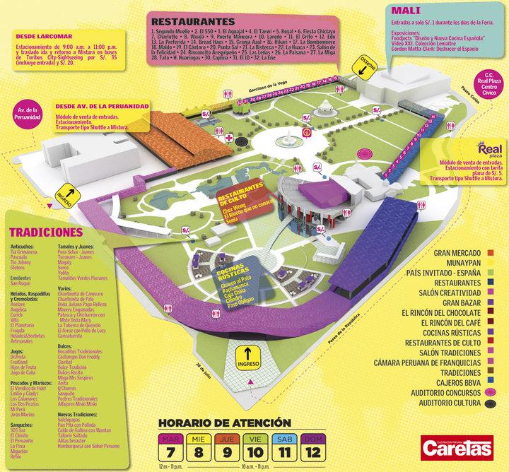 mistura map
