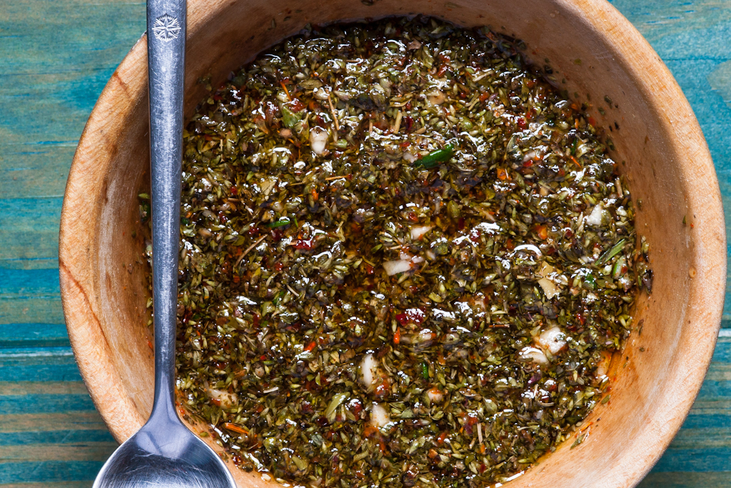 chimichurri_the finished product